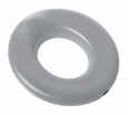 Light Gray Potty Seat Round