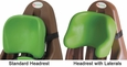 Lime Standard & Lateral Headrests