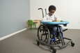 Mobile Activity Tray Sitter Lifestyle - With Wheelchair