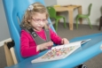 Mobile Activity Tray with Sitter