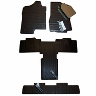 Cadillac Escalade ESV All Weather Rubber Floor Mats 2007 - 2014