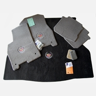 Cadillac STS Titanium Grey Floor Mats & Trunk Mat Set