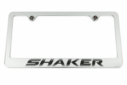 Challenger R/T Shaker Chrome License Plate Frame