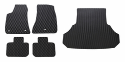 Charger All Weather Rubber Floor Mats Set