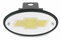 Chevrolet Bowtie Hitch Cover (Custom Colors)