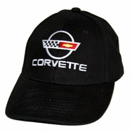 Chevrolet Corvette C4 Black Twill Hat