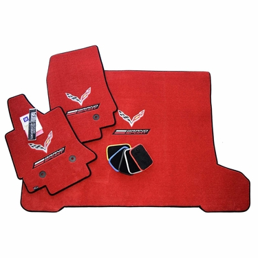 Chevrolet Corvette C7 Grand Sport Floor Mats Set