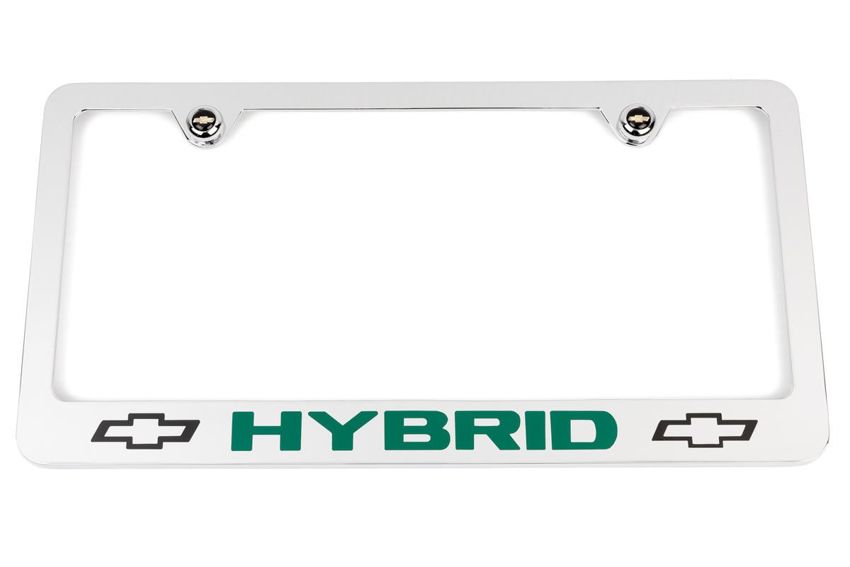 Chevrolet Hybrid Chrome License Plate Frame