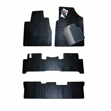 Chevrolet Traverse Custom All Weather Floor Mats