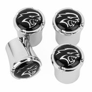 Dodge Challenger Hellcat Chrome Valve Stem Caps