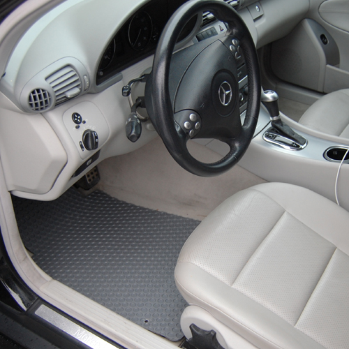 Mercedes Benz C Class Custom All Weather Floor Mats
