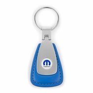 MOPAR Leather Teardrop Fob - Blue