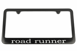 Plymouth road runner Satin-Black License Plate Frame