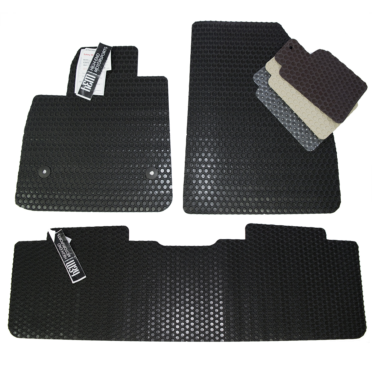 Toyota Tundra Custom All Weather Rubber Floor Mats