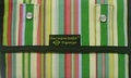 The Coupon Wallet®<br>Deluxe Organizer<br>Green Pink Stripes<br>