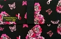 The Coupon Wallet®<br>Basic Organizer<br>Black Pink Ribbon Butterfly