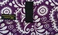 The Coupon Wallet®<br>Basic Organizer<br>Purple White Paisley