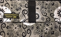 The Coupon Wallet®<br>Basic Organizer<br>Silver Black Paisley