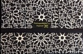 The Coupon Wallet®<br>Deluxe Organizer<br>Black Geo Flower