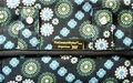 The Coupon Wallet®<br>Deluxe Organizer<br>Black Blue Geo Flower