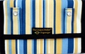 The Coupon Wallet®<br>Deluxe Organizer<br>Blue Yellow Stripes<br>LAST ONE