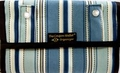 """The Coupon Wallet®<br>Deluxe Organizer<br>Ocean Blue Stripes<br><b><font color=""""red"""">LAST ONE AVAILABLE</font color></b>"""
