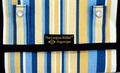 "The Coupon Wallet®<br>Deluxe Organizer<br>Yellow Blue Stripes<br><font color=""red"">LAST ONE AVAILABLE</font color>"