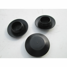 "1/2"" HOLE PLUGS Nylon Plug Buttons (12) Firewall Holes Plastic Caps"