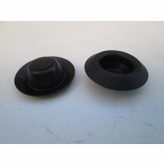 "1/2"" HOLE PLUGS Nylon Plug Buttons Depressed Center"