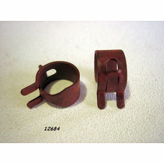 "1/2"" Spring Action Hose Clamps (25) Heat Treated"