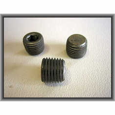"1/4"" -18 Socket Head Pipe Plugs"