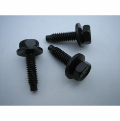 "1/4""-20 X 1"" Dog Point Hex Head SEMS Bolts 7/16"" Hex (20)"