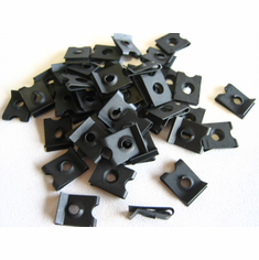 #10 Screw Size U-Nuts Panel Range .020-.051 (50) Free Shipping