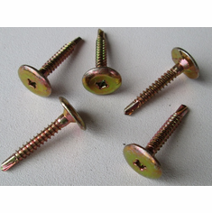 "#10 X 1-1/4"" Phillips Drive TEK'S Liner Screws With Locking Wedges"
