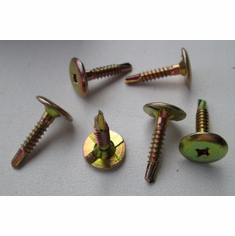 "#10 X 1"" Phillips Drive TEK'S Liner Screws With Locking Wedges Trucks Trailers"