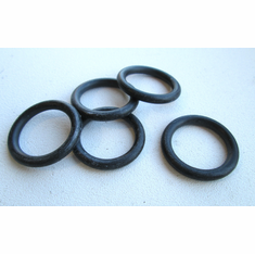 "11/16"" ID 7/8"" OD BUNA N Rubber O-Rings 3/32"" Thick (50)"