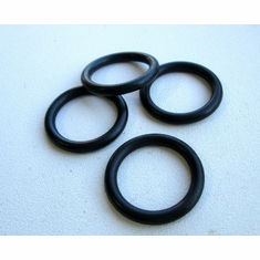 "13/16"" ID 1-1/16"" OD BUNA N Rubber O-Rings 1/8"" Thick (50)"
