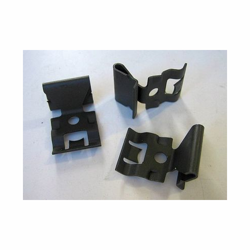 1955-1956-1957 Chevy Windshield Reveal Moulding Clips (12)