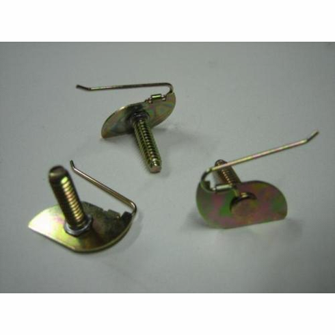 """1957-1960 Plymouth Fender QTR Panel 3/4"""" Moulding Clips (12)"""