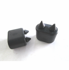 1961-1974 Camaro Firebird 64-69 El Camino Snap in Door Bumper Rubber Stops