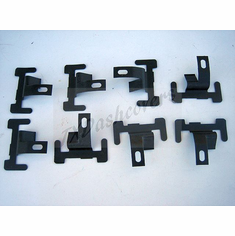 1963-1967 IMPALA Windshield Lower Moulding Clips (8)