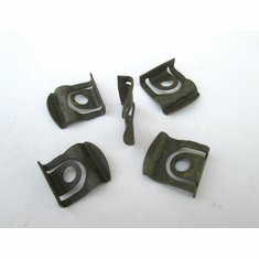 1964 1965 Ford Mustang Windshield Back Glass Moulding Clips C5ZZ-6503178-B