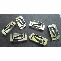 1966 1967 NOVA GM Chevrolet Windshield Rear Window Reveal Moulding Clips