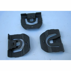 1967-1968-1969 Firebird Windshield Reveal Moulding Clips (18)