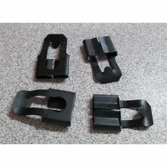 1968-1972 Nova Door Lock Rod End Clips (6)