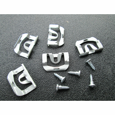 1970-1981 Trans Am Camaro Rear Glass Reveal Moulding Clips with Screws (20)