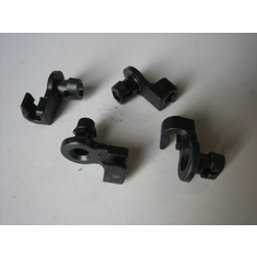 1995-On Chevy S10 T10 Door Lock Rod Clips Oblong Hole (12)