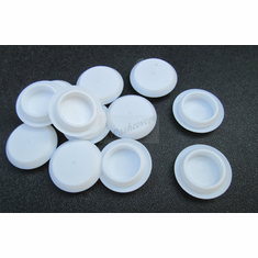 "3/4"" Sheet Metal Plugs White Body Panel Plugs Fender Plugs Car Truck Plane"