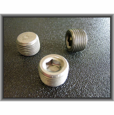 3/8-18 Socket Head Pipe Plugs (12)