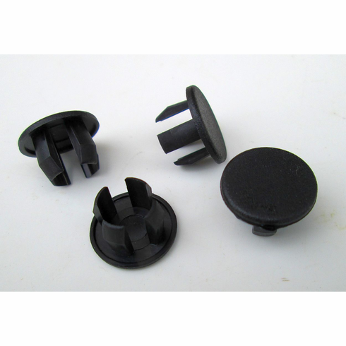"3/8"" Black Nylon HOLE PLUGS Plug Buttons (25) Boat Car Truck FireWall Plugs"